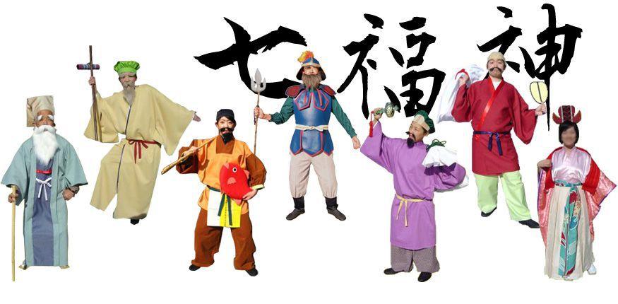七福神衣装をお正月に!!