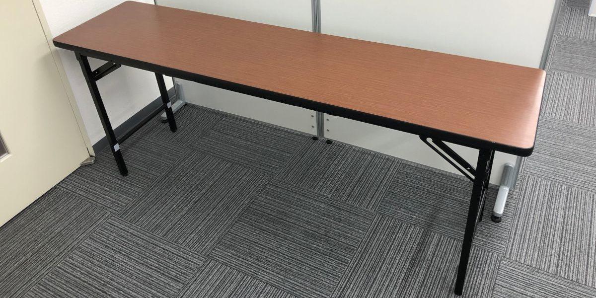 多くのイベントに必要なものといえばテーブルですね!